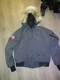gray and black zip-up jacket Burnaby, V5M 4A1