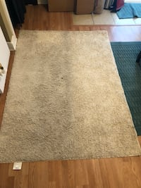 Used Ivory Area Rug, 5x7 New Orleans, 70117