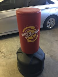 Boxing Kicking bag with stand. 763 mi