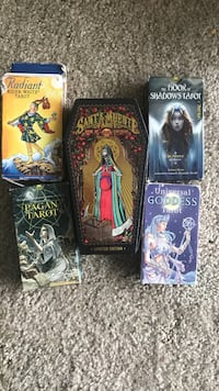Tarot reading amazing price 5 different unique decks to choose from over 15 spreads