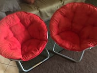 red and gray moon chair Los Angeles, 90033