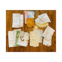 Assortment of 16 Premium Cloth Placemats - Sizes Vary Farmers Branch, 75244
