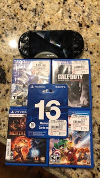 Ps Vita Slim w/ extra storage and a few games (negotiable) Olive Branch, 38654