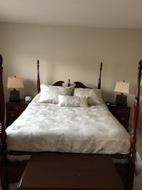 Bedroom Furniture ( Solid Cherry Wood)