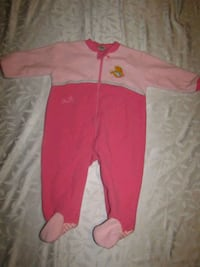 Girls 9-12mths disney winnie the pooh pink onesie London