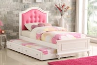 Twin bed frame with Trundle  Lancaster, 93534