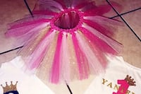 Pink and gold tutu skirt 9-12 mo McAllen, 78501
