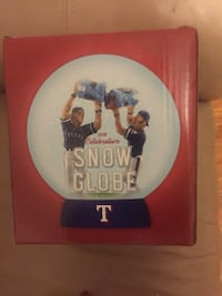 Texas Rangers Giveaway Snowglobe Fort Smith, 72916