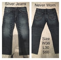 Never Worn Jeans Prices & Sizes In Pictures  Edmonton, T6H 4M6