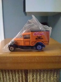 Kellogg's toy delivery trucks collectors set. Still sealed in original
