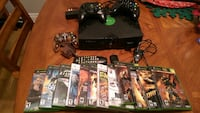 Original Xbox with games hookups and controller