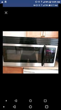 stainless steel and black microwave oven Cabot, 72023