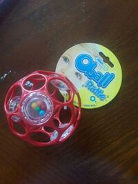 Oball rattle toy for baby Toronto, M9W