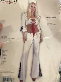 Sailor doll costume size small