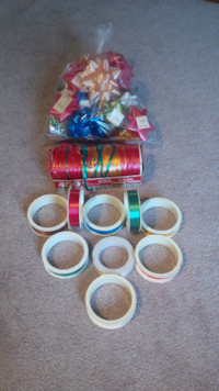 Brand New - Bows, Curling Ribbon And Gift Wrapping Ribbon 546 km