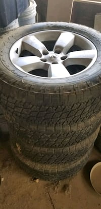 "2012 20"" dodge ram rims and tires"