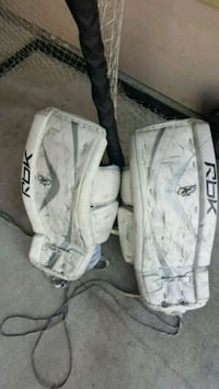 Reebok 6K Jr Goalie pads Ice hockey