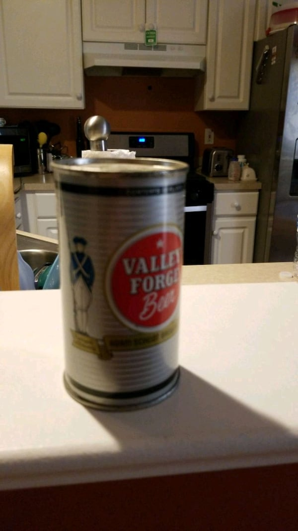 Collectable 1940 Valley Forge Used Beer Can b4532e6e-46a8-44b5-af7d-947ab851ccf9