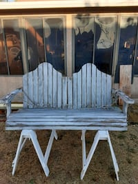 One of a kind aged bench Oxnard, 93033