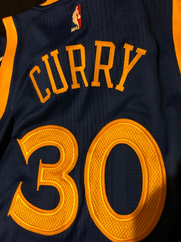 reputable site 3dc8e 16e15 Game worn Stephen Curry jersey