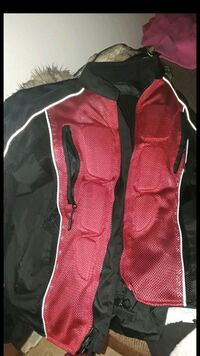 red and black motorcycle jacket Schenectady, 12308