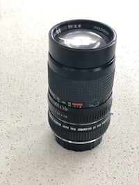 Gemini 135mm zoom lens f/2.8 with attached tele-converter Toronto, M9W 0C6