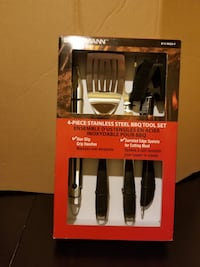 Brand new Brinkman 4 pieces stainless steel BBQ Milton