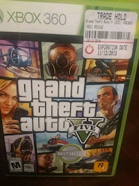 Grand theft Auto number 5 for Xbox 360