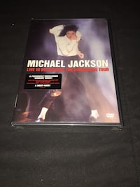 Michael Jackson DVD (Sealed) - Live in Bucharest: The Dangerous Tour Baltimore, 21211