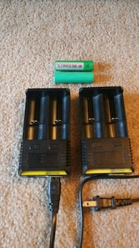2 battery chargers Richmond, V6Y 3G1