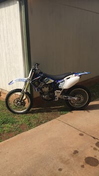white and blue motocross dirt bike Athens, 30601