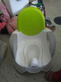 baby's white and green booster seat Rochester, 03867