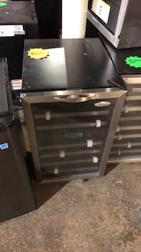 Brand new free standing Whirlpool wine cooler with lock and 90 day warranty Pineville, 28134