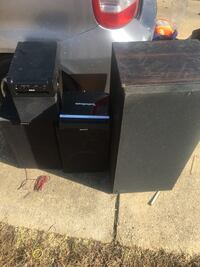 black Sony home theater system Fort Washington, 20744