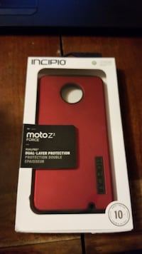 red and black Otter Box iPhone case New Oxford, 17350
