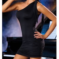 Black Bodycon Mini Dress Spring Hill