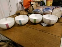 4 good quality bowls Whitby, L1N 5L9