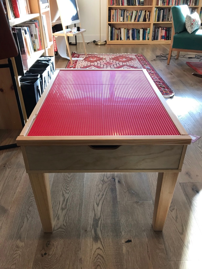 used wooden lego table with storage drawers for sale in chicago rh us letgo com