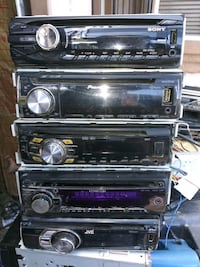 Name brand CD players all in good working conditio
