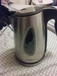 silver and black vonshef electric pitcher Dickson, 37055