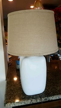 Nice table lamp with new shade. Seminole, 33772