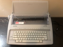 Brother GX-6750 Electronic Typewriter (with extra cartridge)
