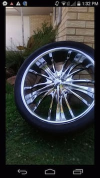 24 inch wheels in tires !!!! Oklahoma City