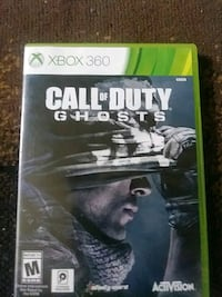 Call of Duty Ghosts Xbox 360 game case Baton Rouge, 70815