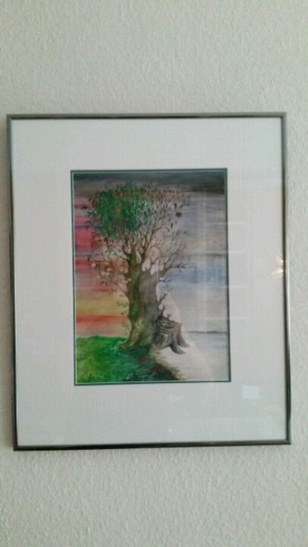 Original Aquarell