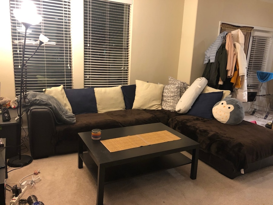 used black and brown sectional sofa for sale in dallas letgo rh us letgo com