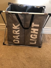 Dark and light compatible laundry hamper Las Vegas, 89131