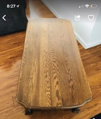 brown and black wooden table Alexandria, 22304