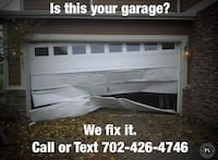 Garage door installation and repair Las Vegas