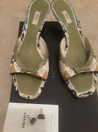 Authentic prada size 37 sandal Rockville, 20850